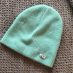 Jeff Mint Green Ski Hat